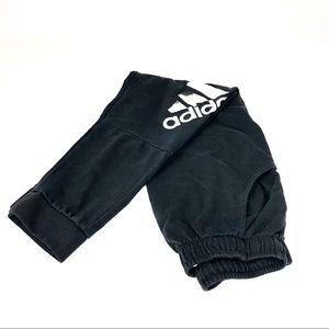 adidas Black Joggers Sweats Athletic skinny leg